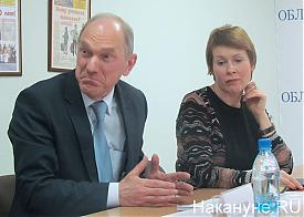 Круглый стол, реформа местного самоуправления, Воронин, Чечунова|Фото: Накануне.RU