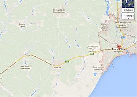 Скриншот 2014.03.26 карта Мариуполь|Фото: Накануне.RU