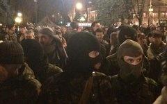 правый сектор, рада, киев, 27.03|Фото:Twitter @superumka