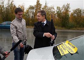 какой мэр - такие и дороги, глава сургута Дмитрий Попов|Фото: ugra-news.ru
