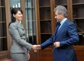 Нина Штански, Сергей Шойгу|Фото: mfa-pmr.org