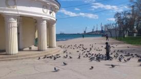 крым, феодосия, пляж, набережная Фото:Накануне.RU