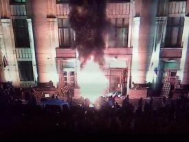 Харьков, волнения, республика Фото:twitter.com/myrevolutionrus