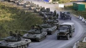 российские танки на границе украины|Фото:
