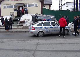 Ханты-Мансийск, ДТП с участием внедорожника и школьников|Фото: muksun.fm