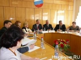 встреча Кокорина с профсоюзами Зауралья Фото: Накануне.RU