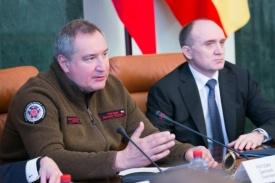 Дмитрий Рогозин Борис Дубровский|Фото: gubernator74.ru