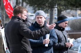 пикет, украина|Фото: суть времени