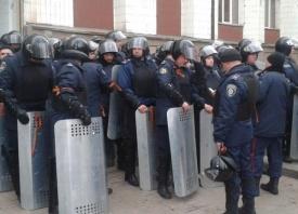 Беркут, Донецк, георгиевские ленты|Фото: