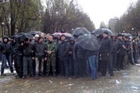 запорожье, протестанты, антимайдан, 13.04|Фото:061.ua