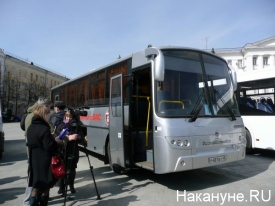 "газомоторный  автобус  ""КАВЗа""|Фото: Накануне.RU"