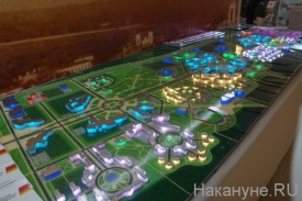 Выставка, Дни Свердловской области в Совете Федерации, макет, УрФУ, технополис|Фото:Накануне.RU