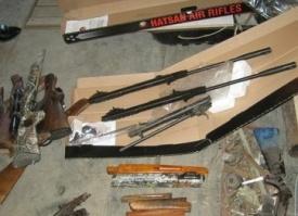подпольная мастерская, оружие|Фото: