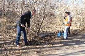 Алексей Кокорин субботник Курган|Фото: пресс-служба губернатора Курганской области