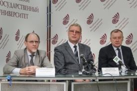 руководство ЧелГУ Николай Мамаев Юрий Миловидов Андрей Мельников Фото: ЧелГУ