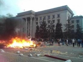 одесса, пожар, дом профсоюзов, украина|Фото:kp.ua