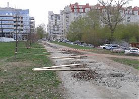забор, застройка на Горького|Фото: Дмитрий Москвин