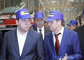 уралтрансмаш, Евгений Куйвашев, Алексей Носов|Фото: Накануне.RU