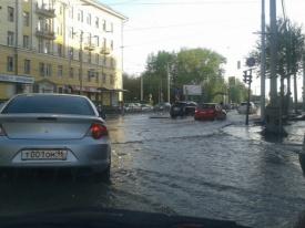 порыв, водопровод, потоп|Фото:vk.com/te_ekb