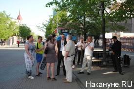 пикет рабочих ЗМЗ 15.05.2014|Фото: Накануне.RU