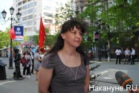 пикет рабочих ЗМЗ 15.05.2014 Марина Воробьева|Фото: Накануне.RU