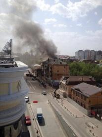 пожар, куйбышева-вайнера|Фото: twitter.com/AlexeyBaynov