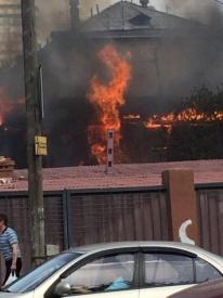 пожар, куйбышева-вайнера|Фото: twitter.com/RifezOroz