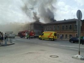 пожар, куйбышева-вайнера|Фото: twitter.com/safarovhalid