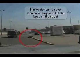 Убитая намниками Blackwater иракская женщина|Фото: