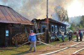 пожар, нижнеиргинское|Фото: 66.mchs.gov.ru