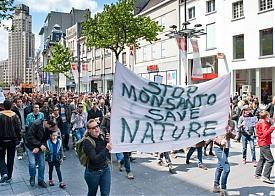 монсанто, гмо, акция протеста|Фото: