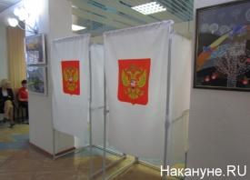 праймериз, Единая Россия, кабинка для голосования|Фото: