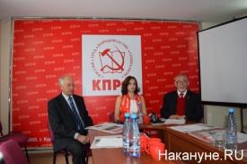 Кислицын и Евгенов КПРФ Курган|Фото: Накануне.RU