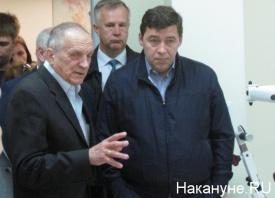Тетехин, Куйвашев, госпиталь инновационных технологий|Фото: Накануне.RU