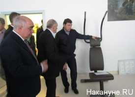 Тетехин, Куйвашев, Белявский, госпиталь инновационных технологий|Фото: Накануне.RU