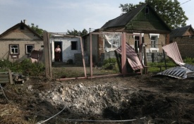 Развал, обстрел, Украина, нищета|Фото:ИТА-ТАСС