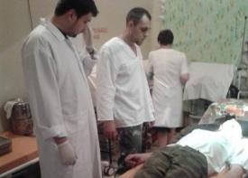 Мельников, Жучковский, ополчение, раненый Фото: