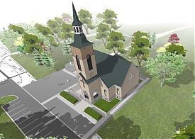 лютеранская церковь, парк им. Блюхера|Фото: luthkirche-jekaterinburg.ru