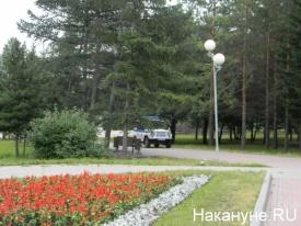 полиция, парк|Фото: Накануне.RU