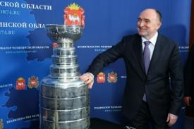 Дубровский и Кубок Стэнли НХЛ|Фото: gubernator74.ru