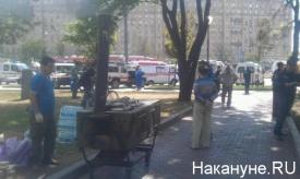 Полевая кухня, ЧП  в метро, Парк Победы, Славянский бульвар|Фото: Накануне.RU