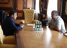 Куйвашев, Аксенов, Крым, встреча|Фото: Департамент информполитики губернатора