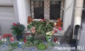Цветы у посольства Нидерландов в Москве, крушение Боинга|Фото:Накануне.RU