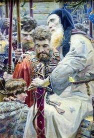 Рыженко, картина, Благословение Сергия Радонежского|Фото: