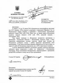 Украина, документ, дезертиры|Фото: