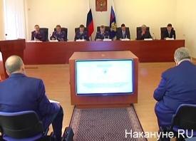 Чайка, Пономарев, Холманских, Куйвашев, совещание|Фото: Накануне.RU