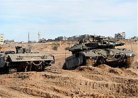 война, палестино-израильский конфликт, Израиль, танк Меркава|Фото: hnn.co.il