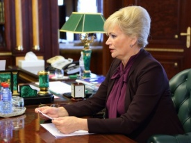 Ирина Старостина председатель избиркома Челябинской области|Фото: gubernator74.ru