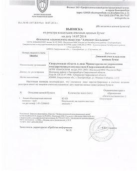 "выписка из Реестра, ""Кольцово"", акции, КРСУ|Фото: ФБ Дениса Носкова"