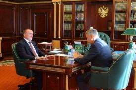 Борис Дубровский Валерий Гартунг|Фото: gubernator74.ru